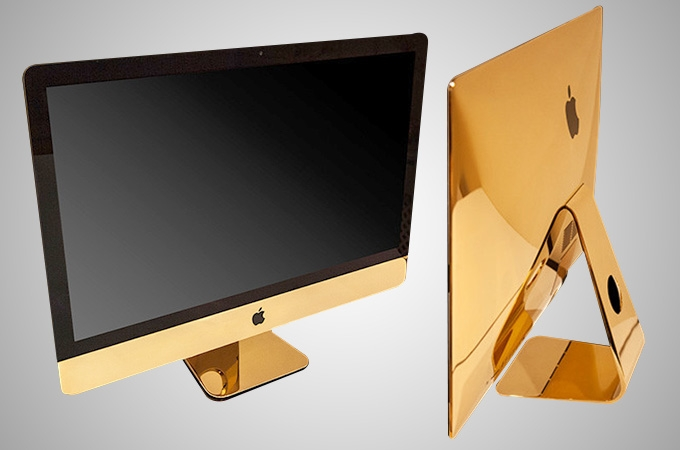24k gold iMac Photos