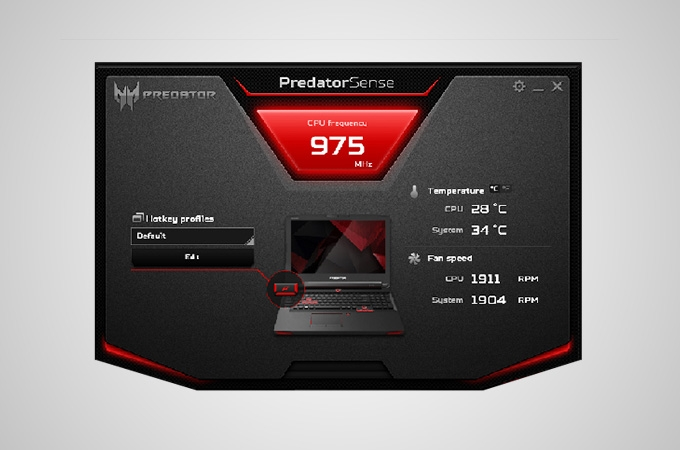 Acer Predator 17 Photos