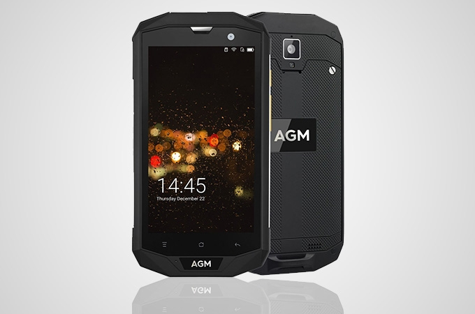 AGM A8 IP68 Waterproof Photos