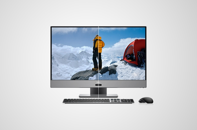 Dell Inspiron 27 inch Photos