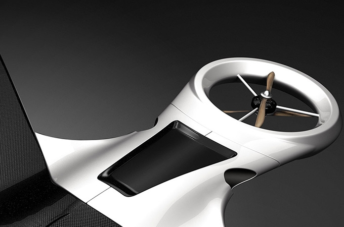 Eagle Eye Drone Concept Design Photos