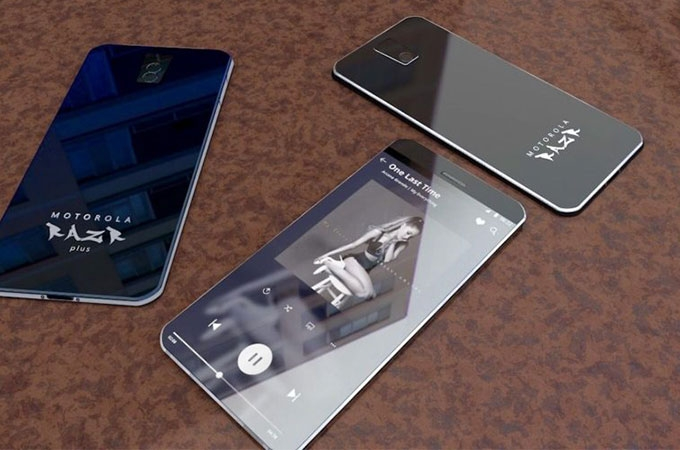 Moto RAZR Concept Design Photos