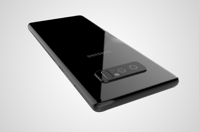 Samsung Galaxy Note 8 Leaked  Photos