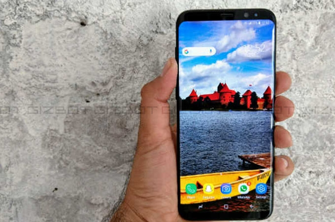 Samsung Galaxy S8 Plus Reviews Photos