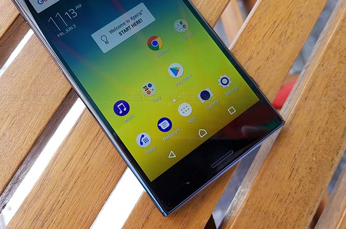 Sony Xperia XZ Premium First Impressions Photos