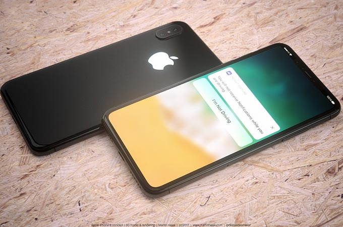 Apple iPhone 8 Concepts Photos