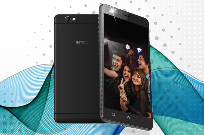 Intex Aqua Selfie Photos