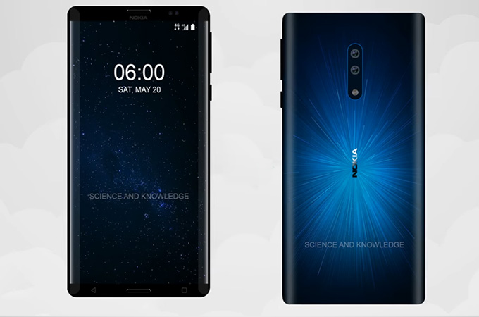 Nokia 6 Edge Concept Design Photos