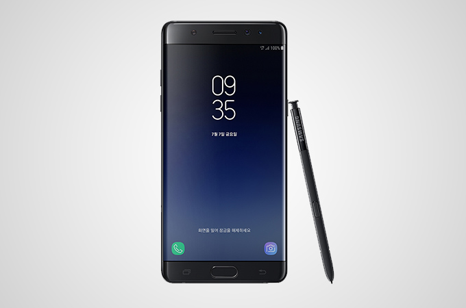 Samsung Galaxy Note FE Photos
