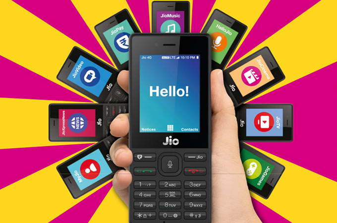 Reliance 4G Volte JioPhone Photos