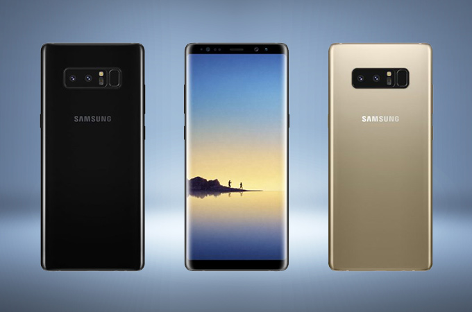 Samsung Galaxy Note 8 Concept Design Photos