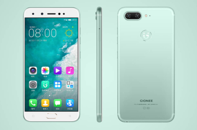 Gionee S10 Photos