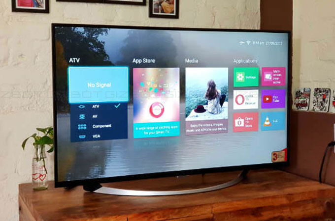 Intex 4K LED B4301 UHD Smart TV Photos