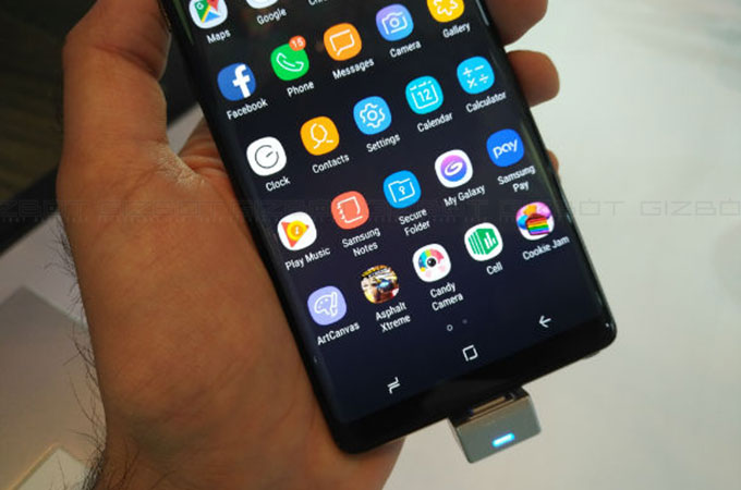 Samsung Galaxy Note 8 First Impressions Photos