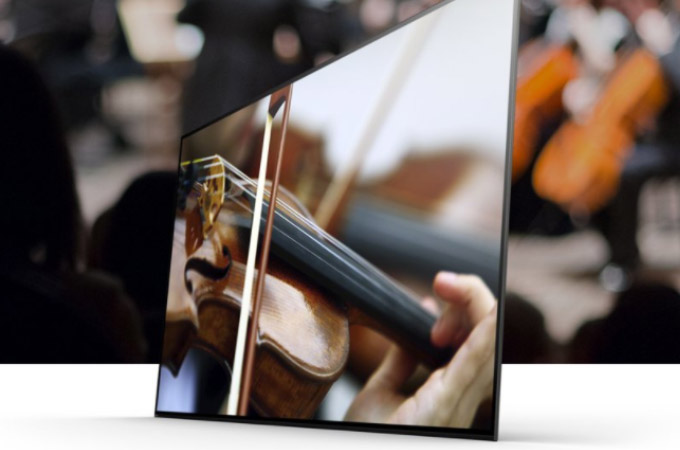 Sony A1E 4K HDR OLED TV Photos