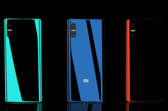 Xiaomi Mi 7 Concept Design Photos