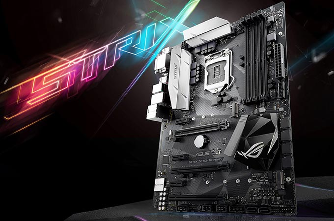 Asus ROG Strix Z270H Photos