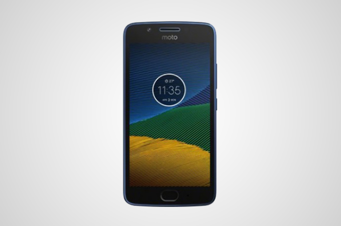 Motorola Moto G5S Midnight Blue Color Variant Photos
