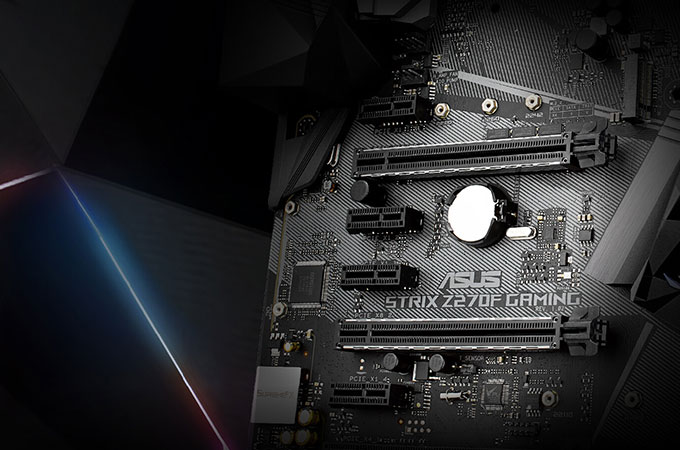 Asus ROG STRIX Z270F Photos