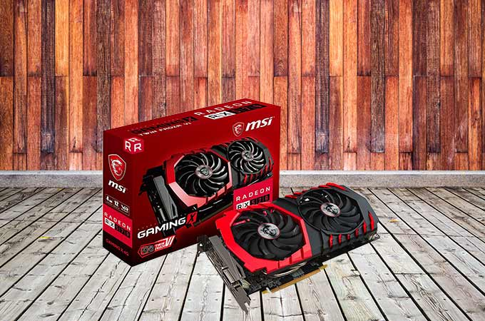 MSI RADEON RX 570 Photos