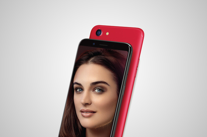 Oppo F5 Red Edition Photos