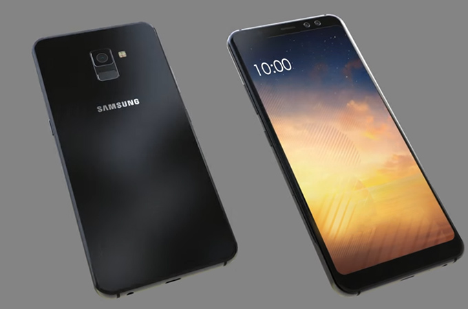 Samsung Galaxy A7 (2018) Concept Photos
