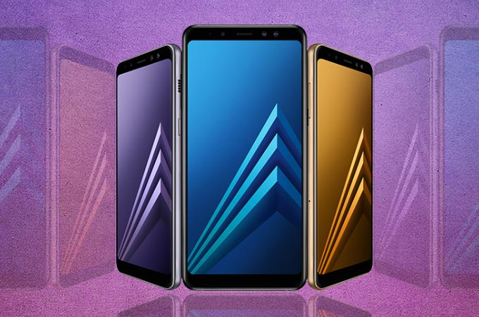 Samsung Galaxy A8 (2018) Photos