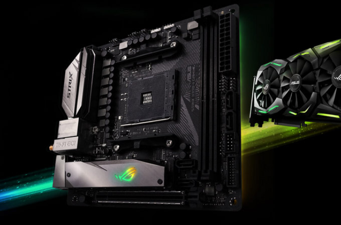 ASUS ROG CROSSHAIR VI Extreme Photos