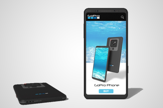 GoPro Phone Concept Design Photos
