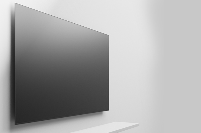 SONY A8F 4K HDR OLED TV Photos