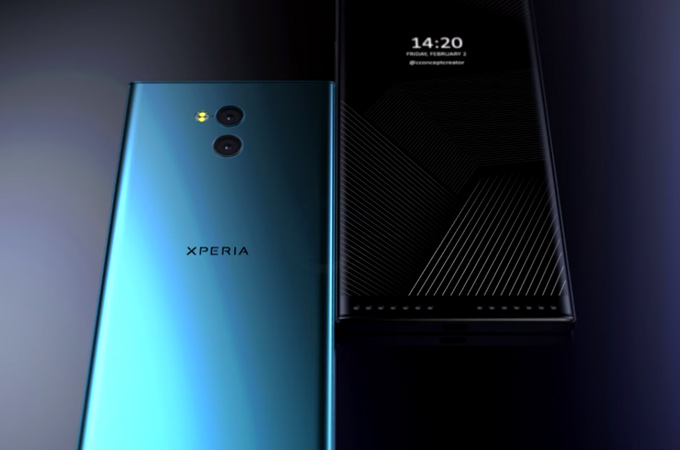 Sony Xperia XZ2 Premium Concept Design Photos