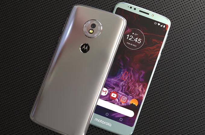 Motorola Moto G6 Play Concept Design Photos