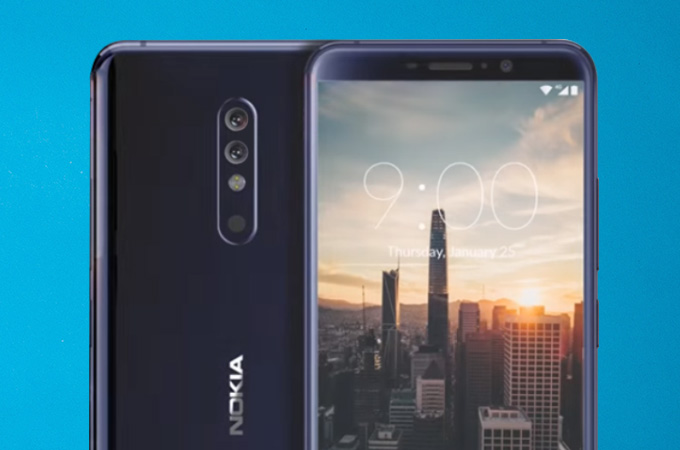 Nokia 9 2018 Concept Design Photos