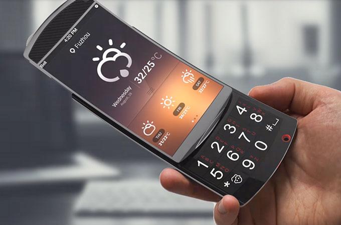 97282ab57 Samsung Flip OLED Smartphone Concept Design Images  HD   Photo ...