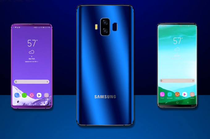 Samsung Galaxy A10 Pro 2018 Concept Design Photos