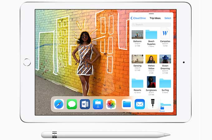 Apple new 9.7-inch iPad Photos
