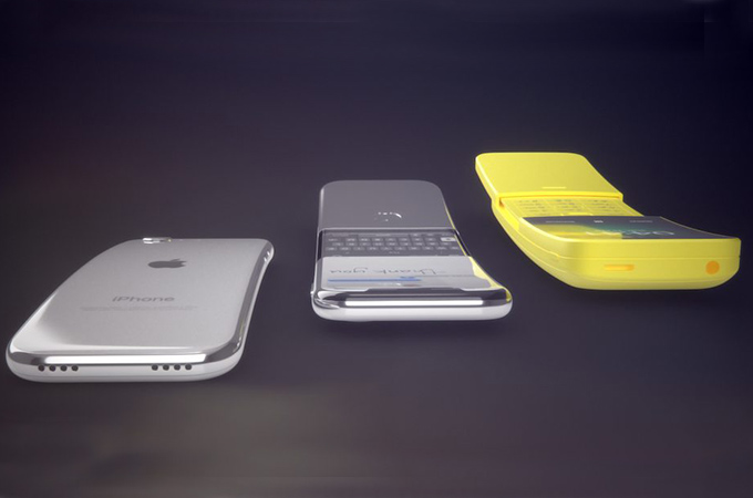 Apple Curved iPhone Concept Design Photos