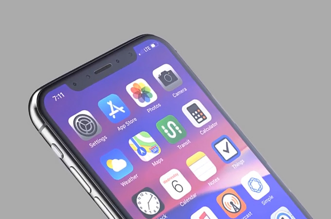 Apple iPhone X (2018) Concept Design Photos