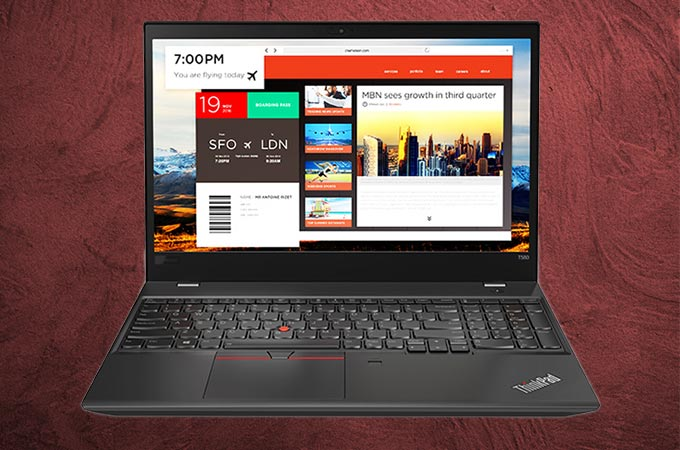Lenovo ThinkPad T580 Photos
