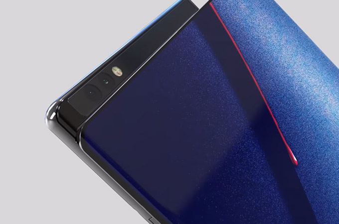 LG G Flex X Foldable Smartphone Concept Design Photos
