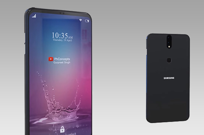 Samsung Galaxy Z Concept Design Photos