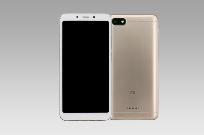 Xiaomi Redmi 6A Leaked Photos