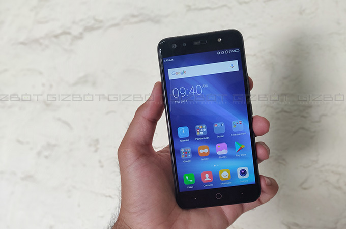 Karbonn Frames S9 Review Photos