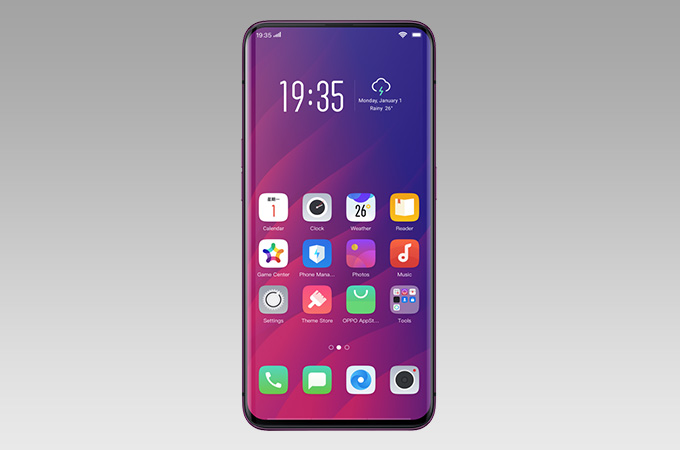 Oppo Find X Photos
