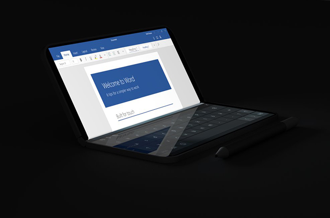 Microsoft Surface Phone Concept Renders Photos