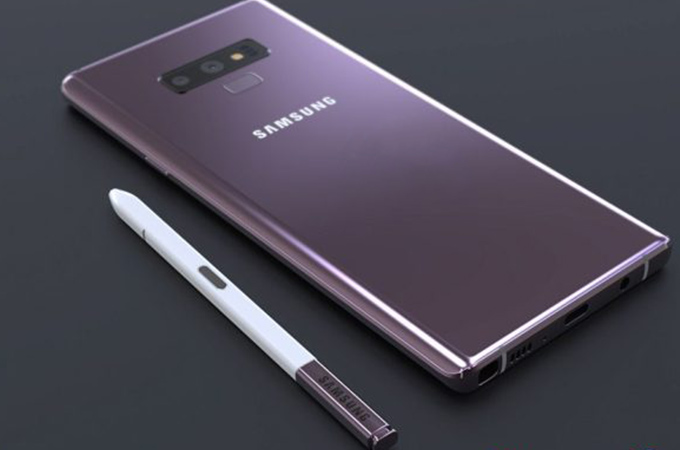 Samsung Galaxy Note 9 Concept Design Photos