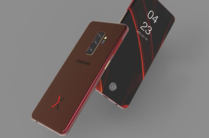Samsung Galaxy X Concept Design Photos