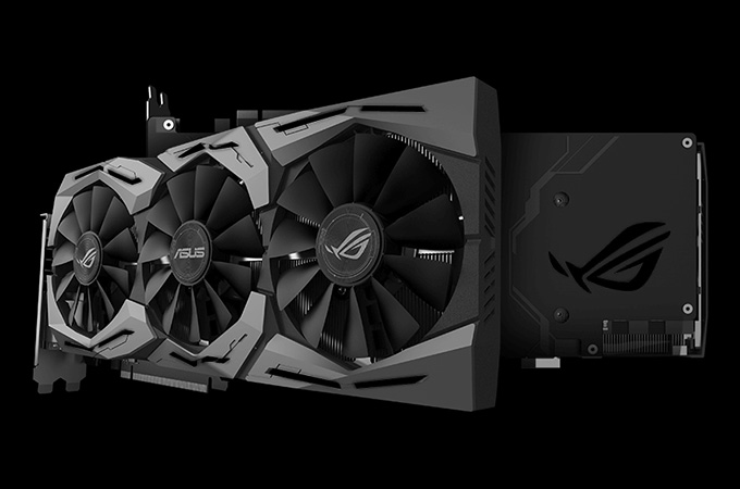 ASUS ROG STRIX GTX1080 O8G Photos