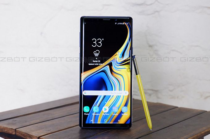 Samsung Galaxy Note 9 First Impressions Photos