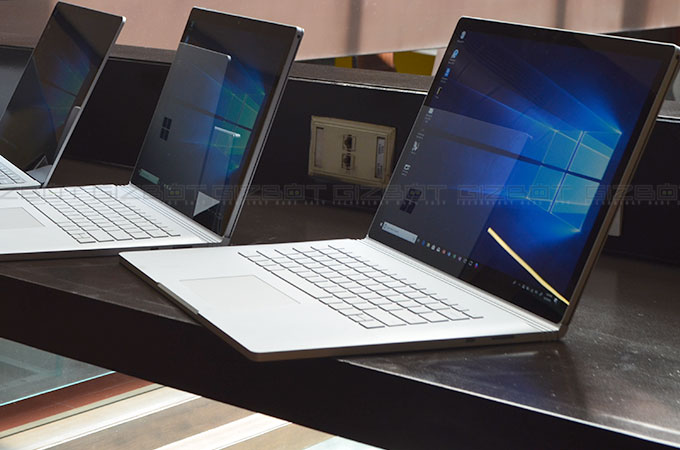 Microsoft Surface Book 2 First Impression Photos